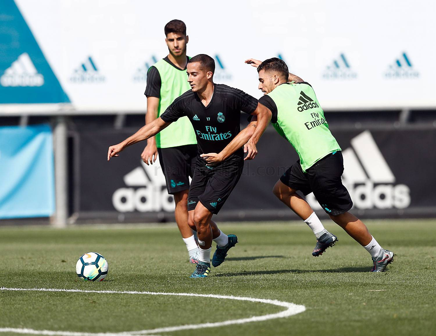 Real Madrid - Entrenamiento del Real Madrid - 21-09-2017
