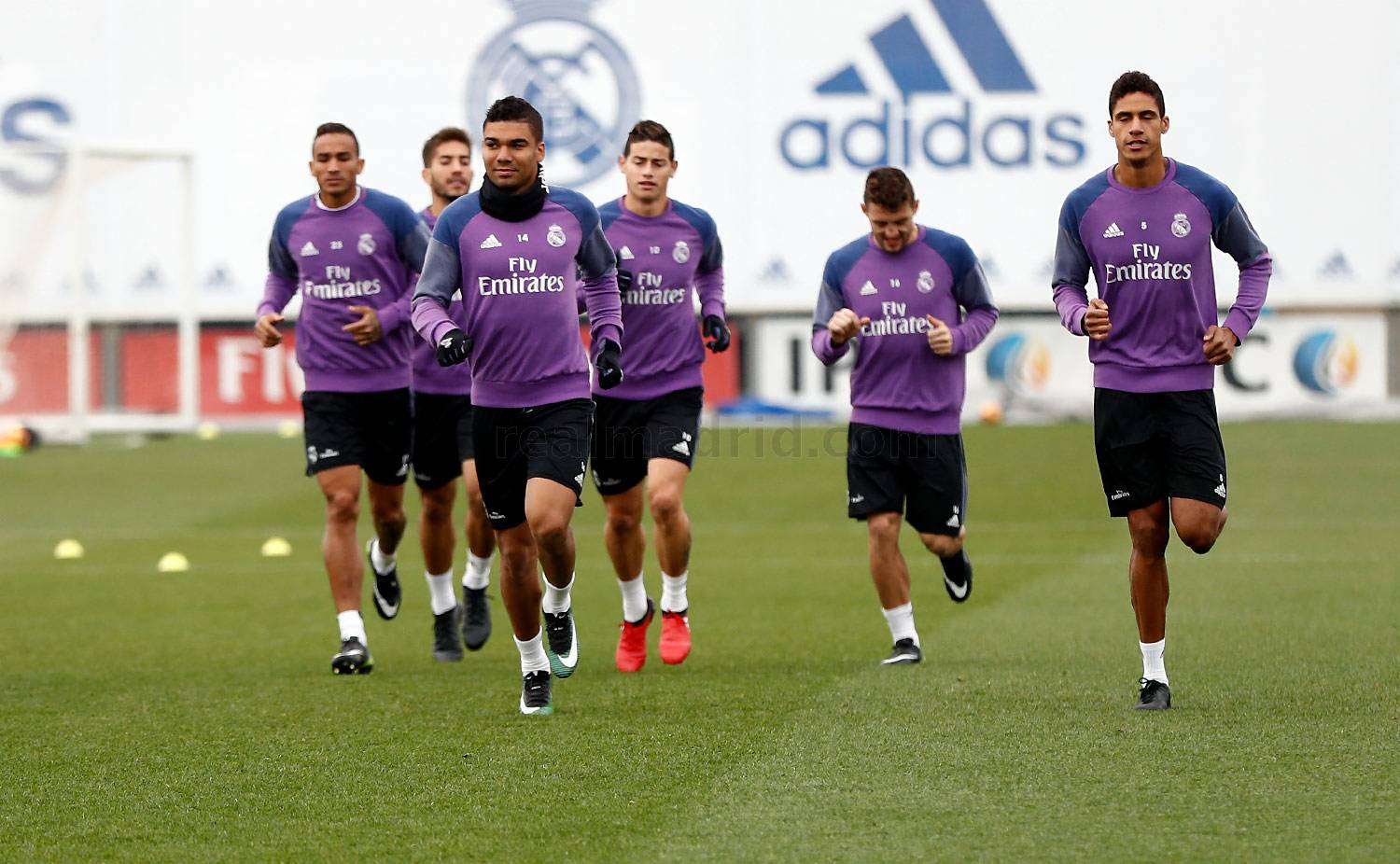 Real Madrid - Entrenamiento del Real Madrid - 09-12-2016