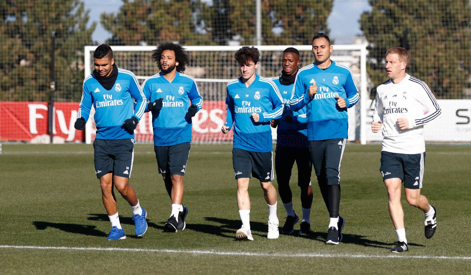 Real Madrid - Entrenamiento del Real Madrid - 25-01-2019