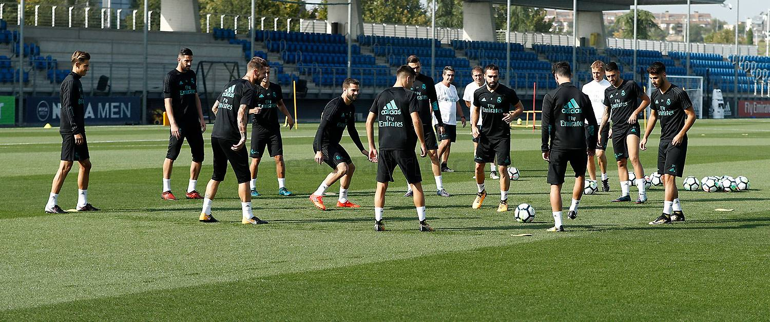 Real Madrid - Entrenamiento del Real Madrid - 22-09-2017