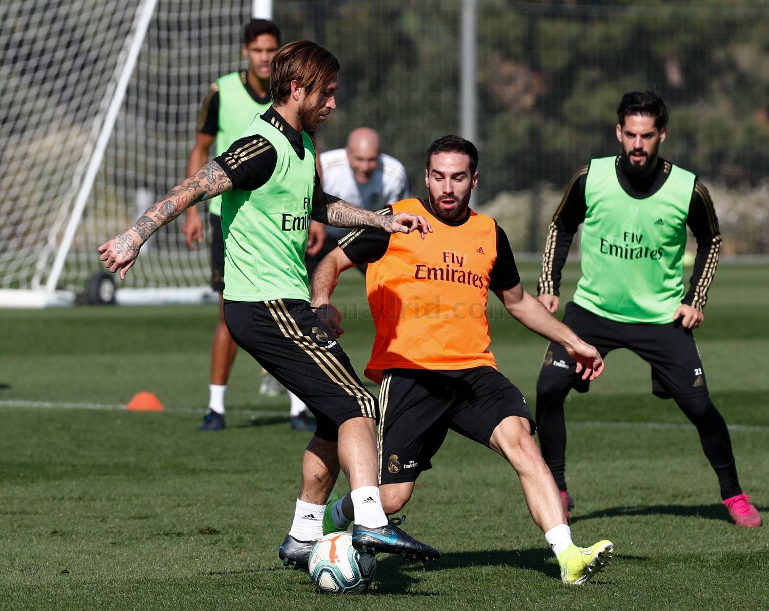 Real Madrid - Entrenamiento del Real Madrid  - 28-10-2019