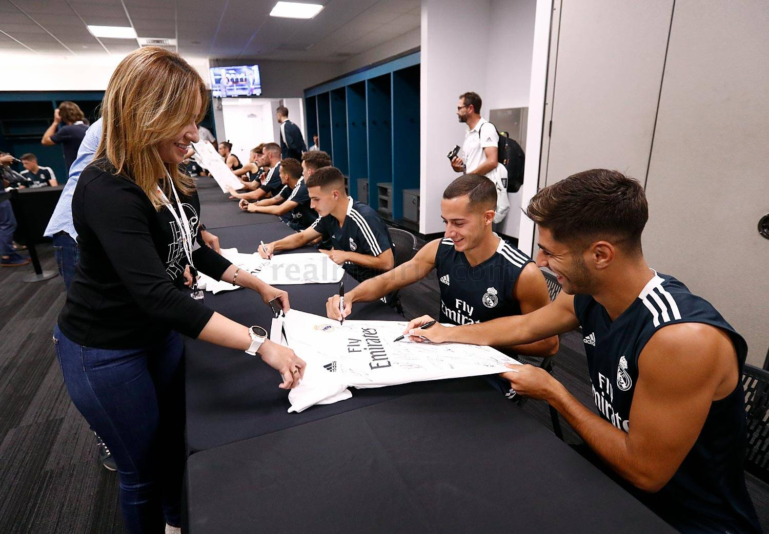 Real Madrid - Meet and greet en el Hard Rock Stadium  - 31-07-2018