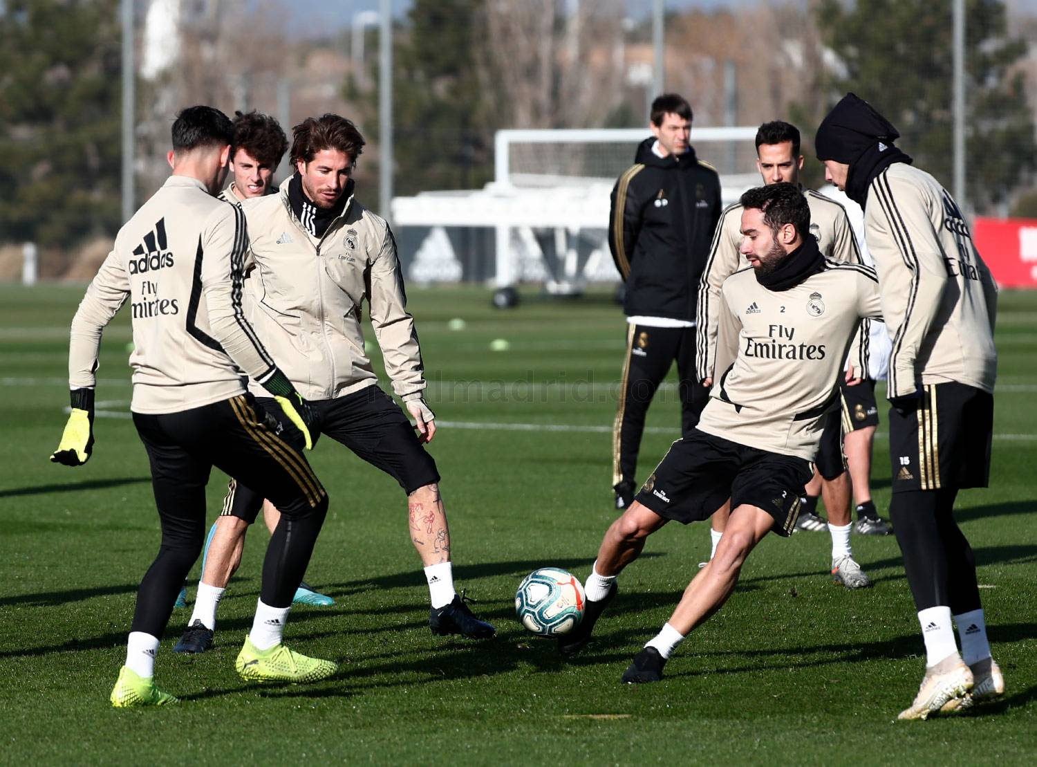Real Madrid - Entrenamiento del Real Madrid  - 17-01-2020
