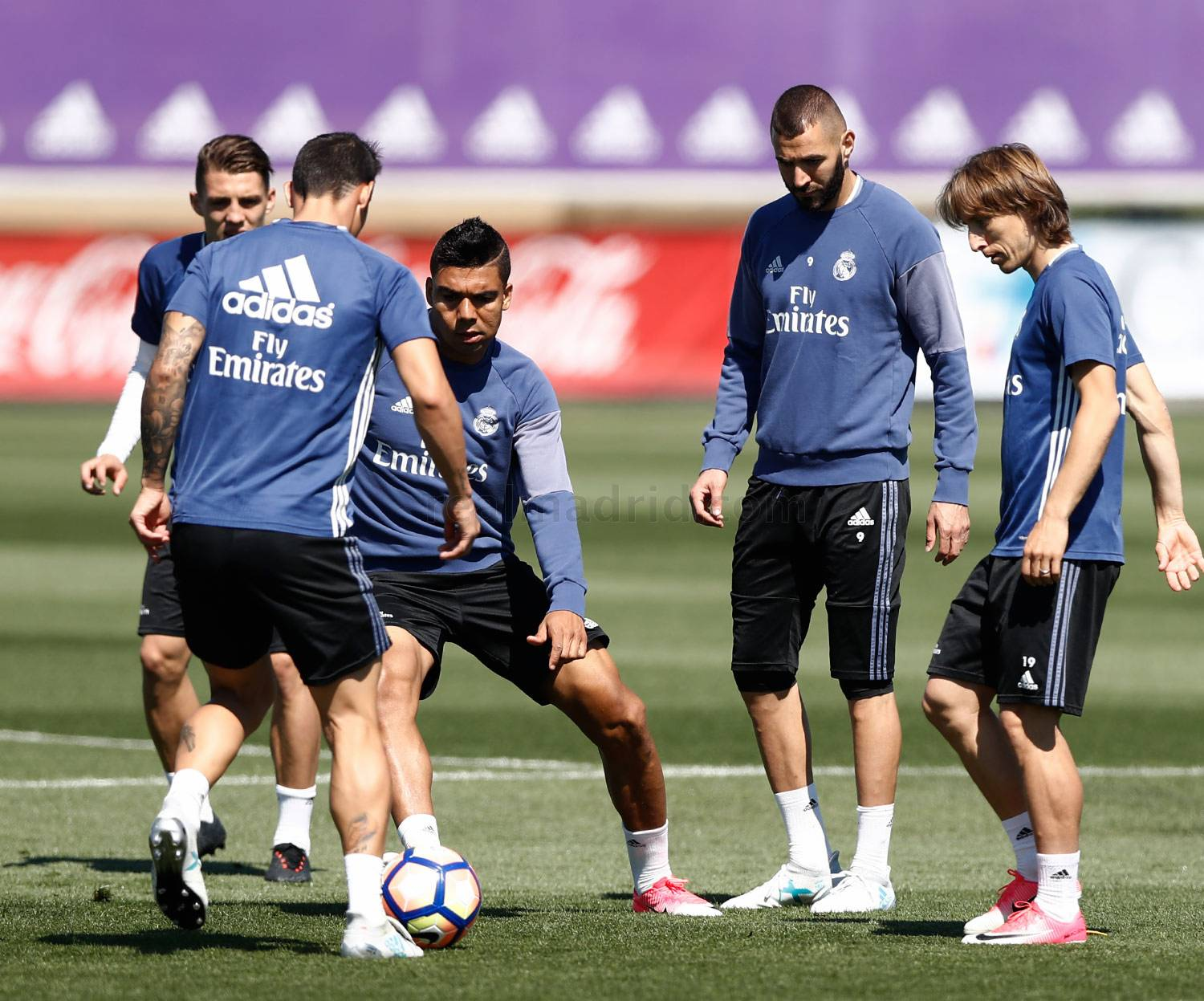 Real Madrid - Entrenamiento del Real Madrid - 19-05-2017
