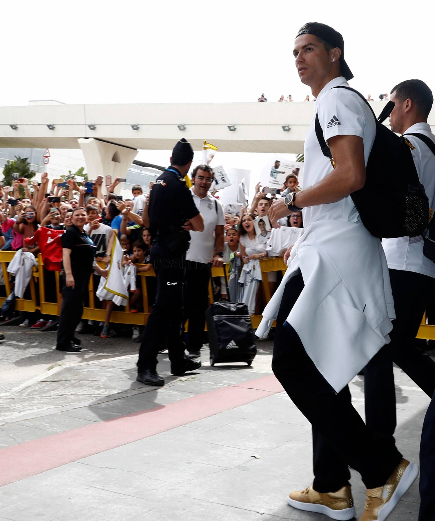 Foto: Futbolchilar Malaga shahrida (+ video)