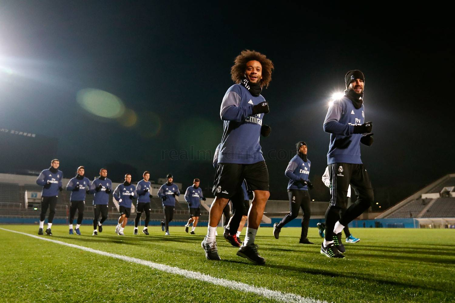 Real Madrid - Entrenamiento del Real Madrid en Yokohama - 12-12-2016
