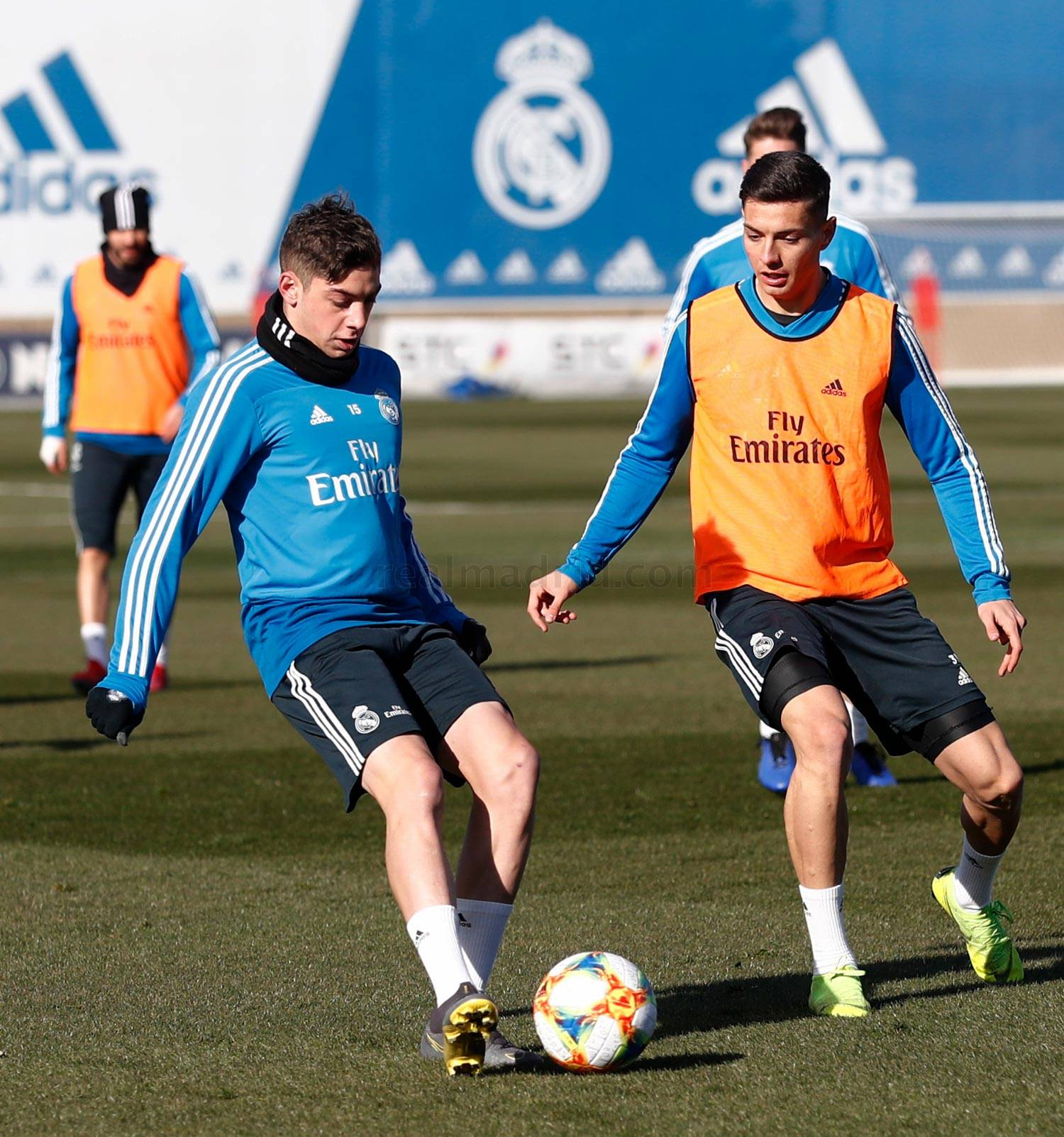Real Madrid - Entrenamiento del Real Madrid - 30-01-2019