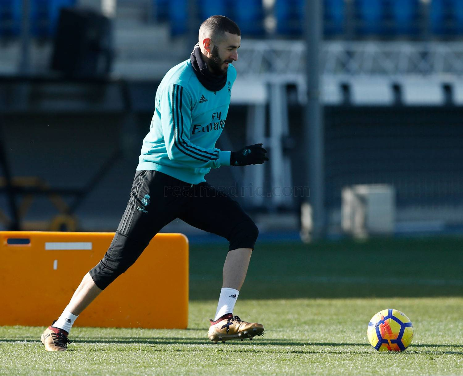 Real Madrid - Entrenamiento del Real Madrid - 12-01-2018