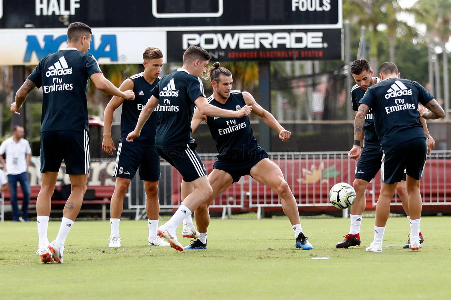 Real Madrid - Entrenamiento del Real Madrid en la Universidad de Barry - 02-08-2018