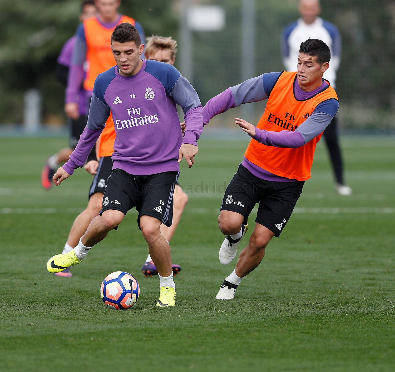 Real Madrid - Entrenamiento del Real Madrid - 20-10-2016