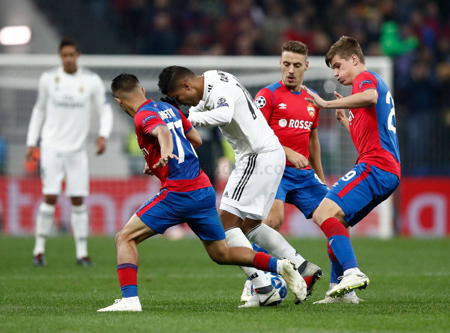 Real Madrid - CSKA Moscú - Real Madrid - 02-10-2018