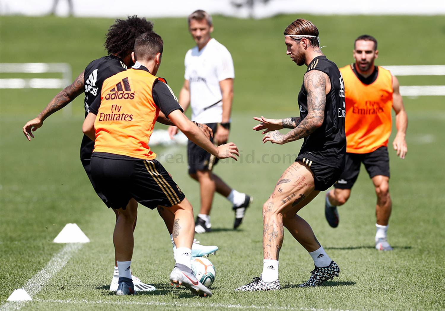 Real Madrid - Entrenamiento del Real Madrid en Montreal - 13-07-2019