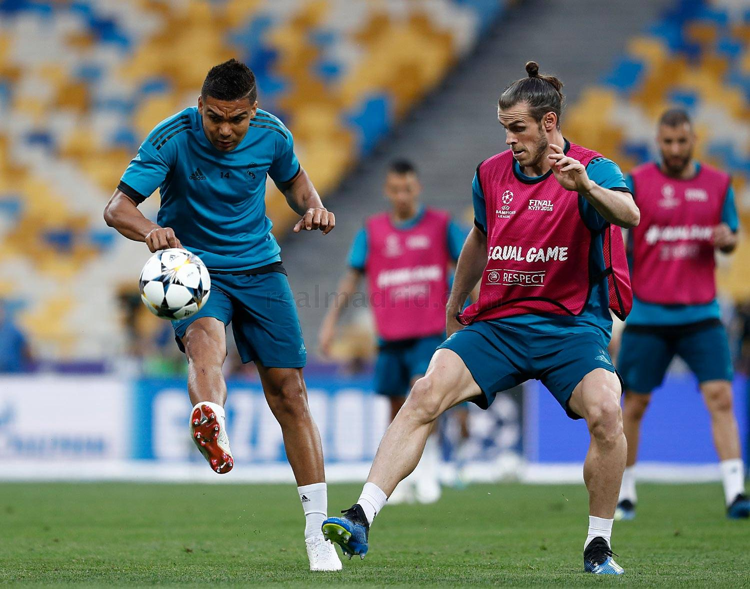Real Madrid - Entrenamiento del Real Madrid en Kiev - 25-05-2018