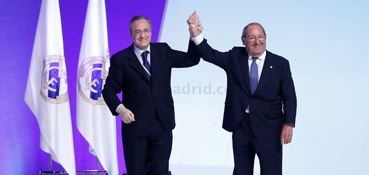 Paco Gento, Presidente de Honor del Real Madrid