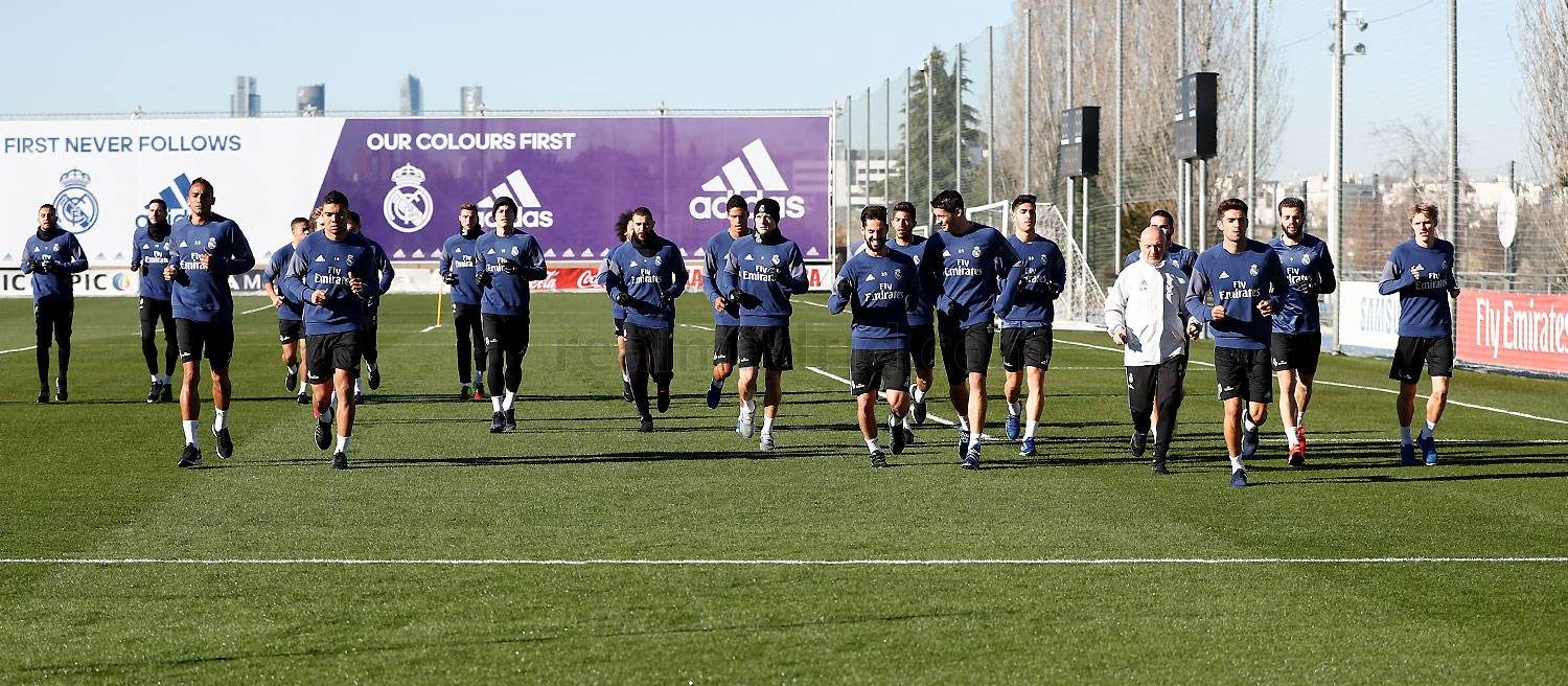 Real Madrid - Entrenamiento del Real Madrid - 28-12-2016
