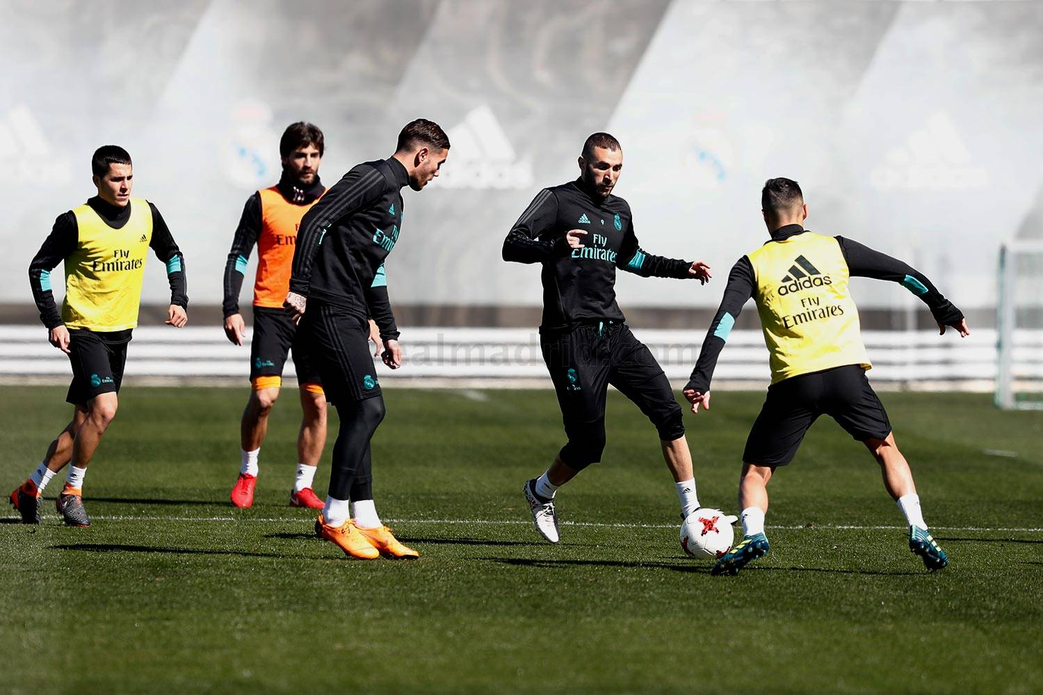 Real Madrid - Entrenamiento del Real Madrid - 22-03-2018