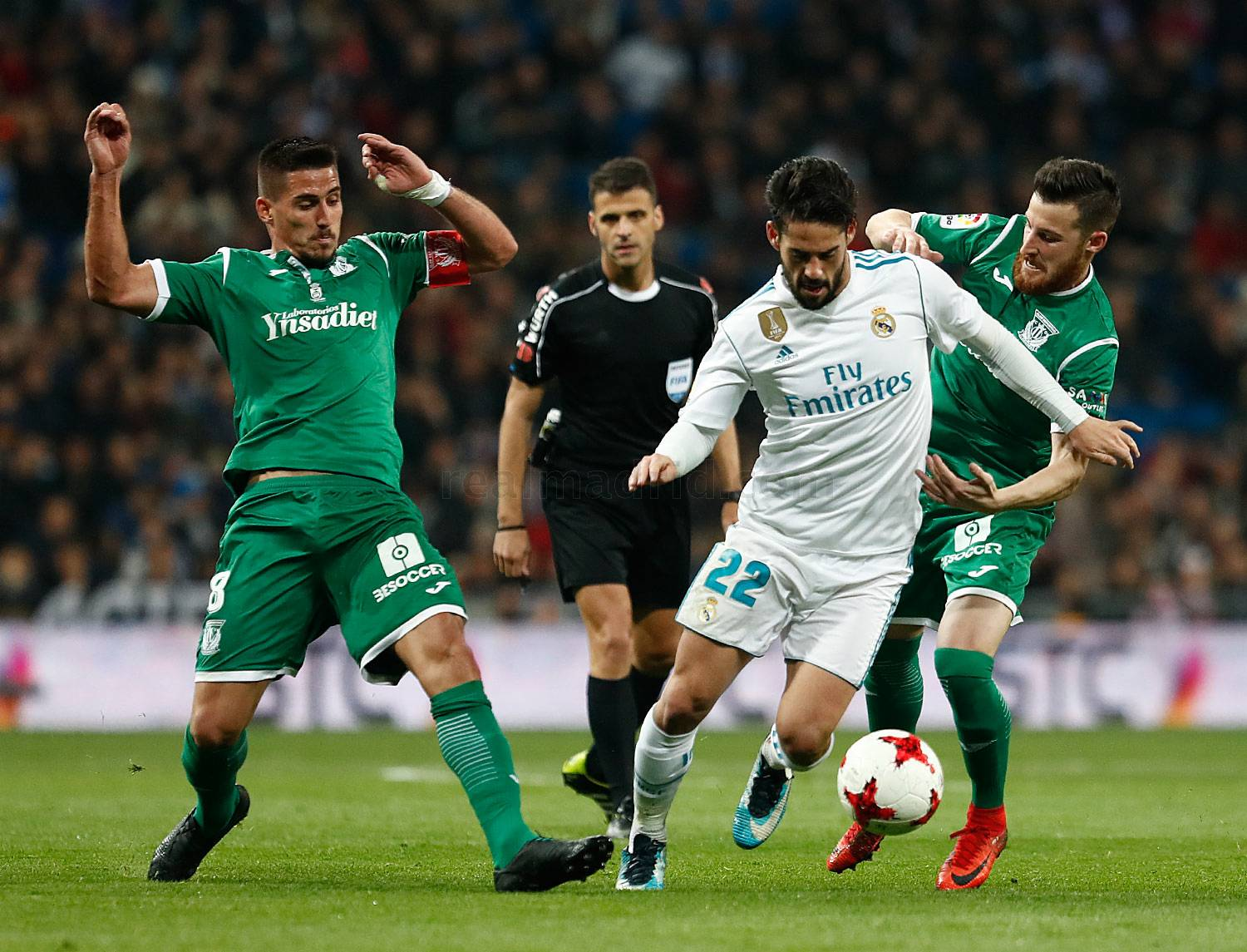 Real Madrid - Real Madrid - Leganés - 24-01-2018
