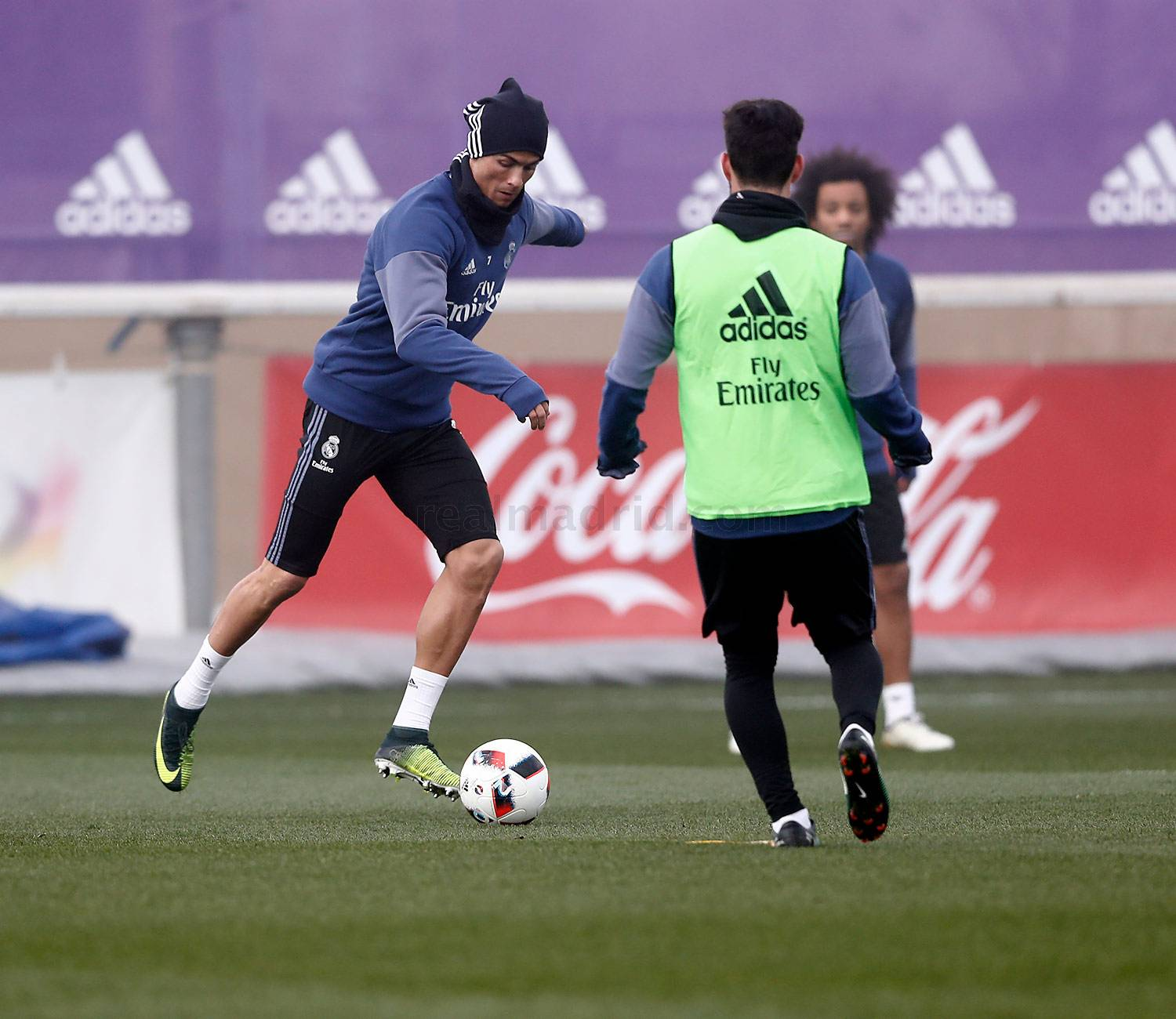 Real Madrid - Entrenamiento del Real Madrid - 31-12-2016