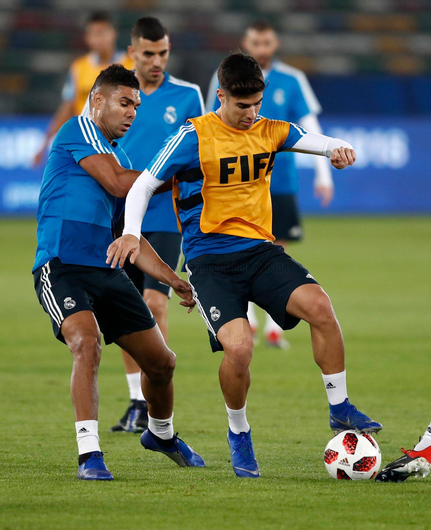Real Madrid - Entrenamiento del Real Madrid en Abu Dabi - 18-12-2018