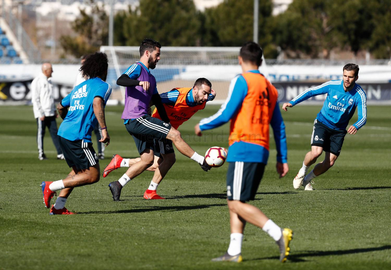 Real Madrid - Entrenamiento del Real Madrid - 22-02-2019