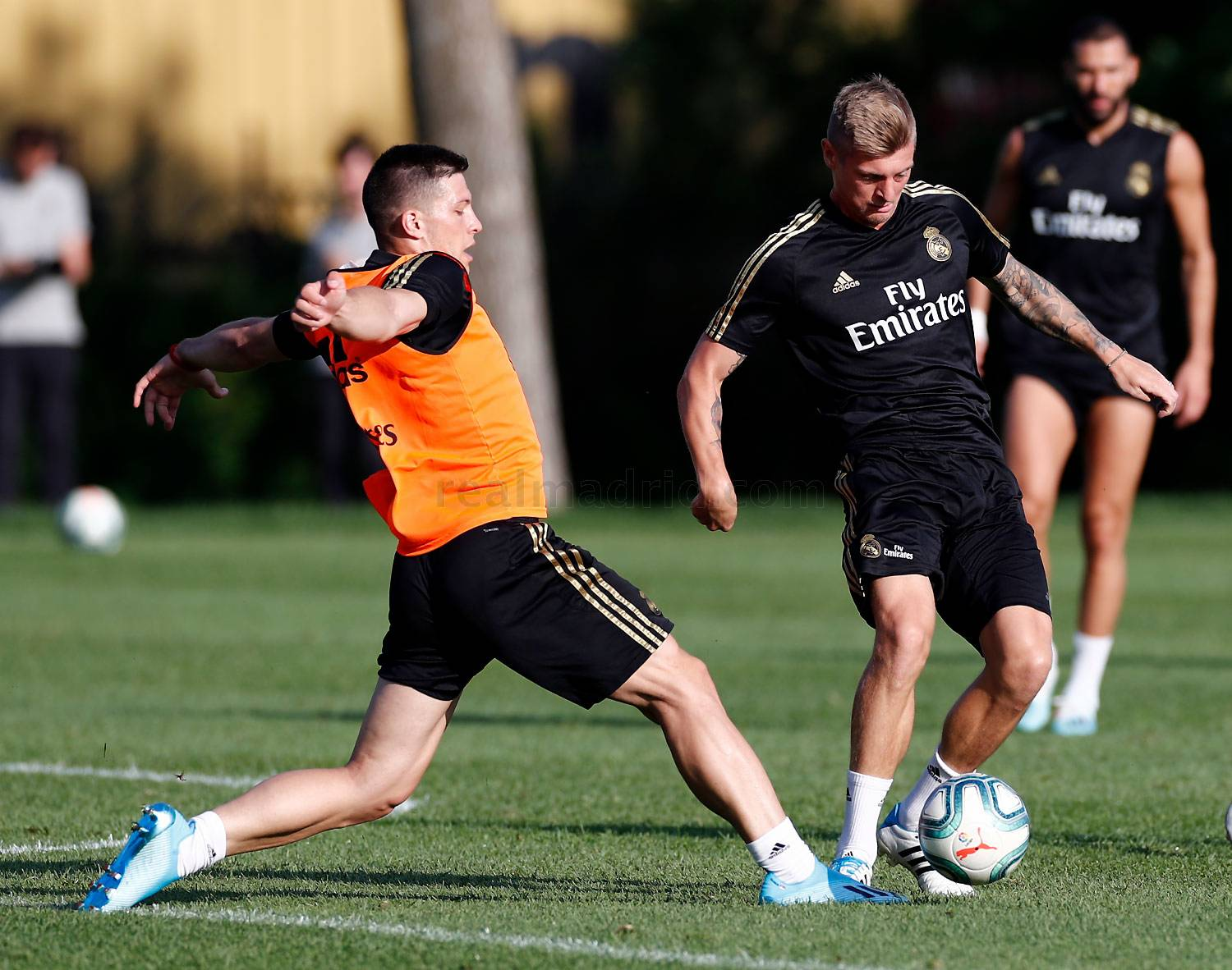 Real Madrid - Entrenamiento del Real Madrid en Montreal - 15-07-2019