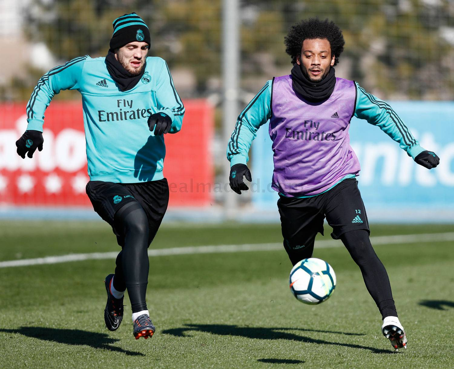 Real Madrid - Entrenamiento del Real Madrid - 07-02-2018