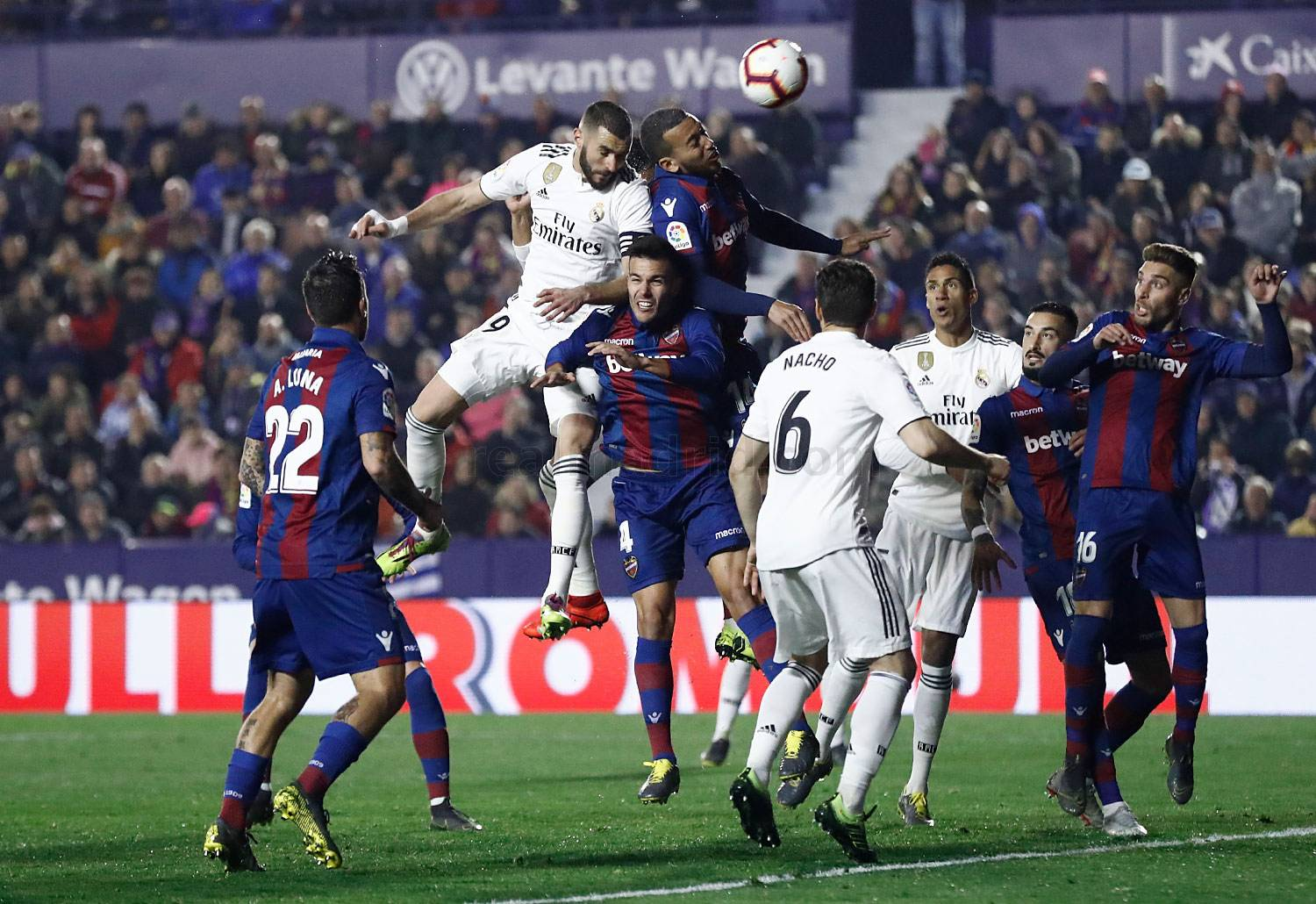 Real Madrid - Levante - Real Madrid - 24-02-2019