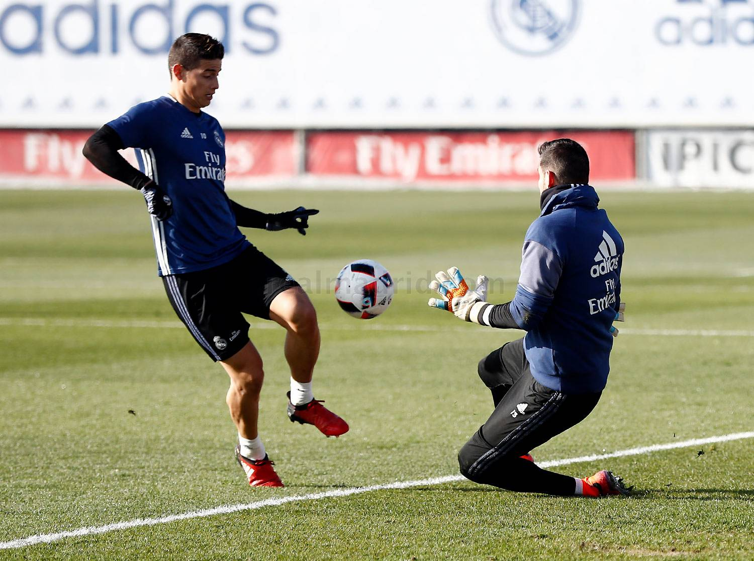 Real Madrid - Entrenamiento del Real Madrid - 03-01-2017