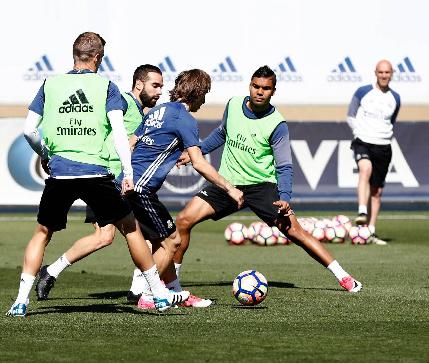 Real Madrid - Entrenamiento del Real Madrid - 21-04-2017