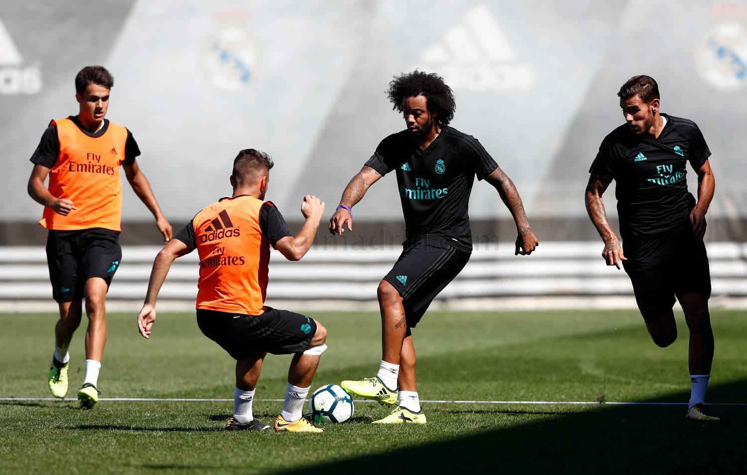 Real Madrid - Entrenamiento del Real Madrid - 05-09-2017