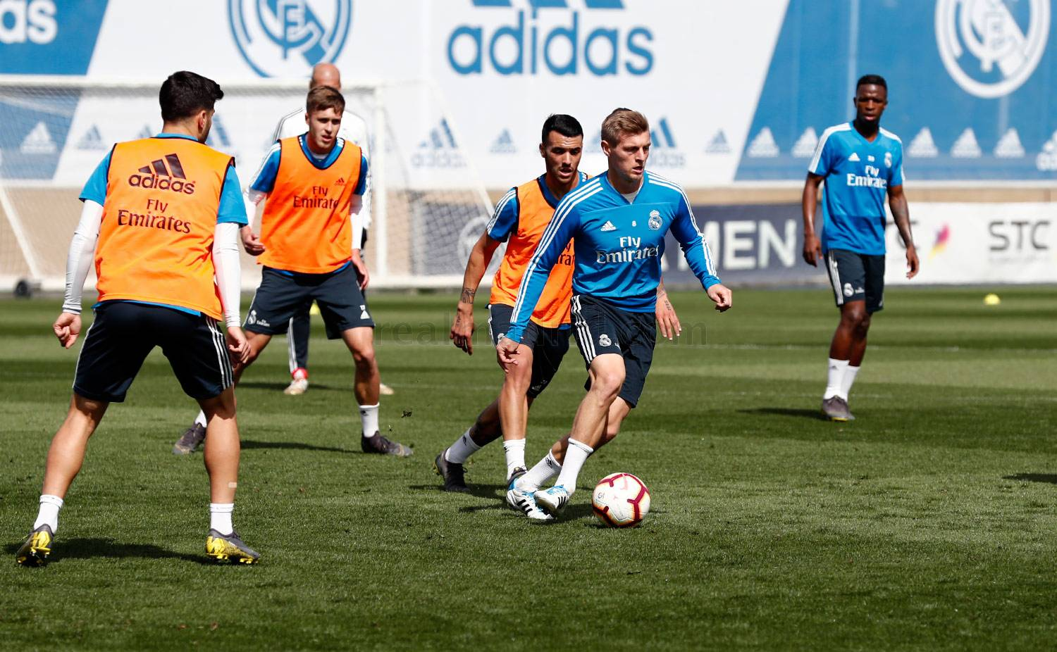 Real Madrid - Entrenamiento del Real Madrid - 26-04-2019