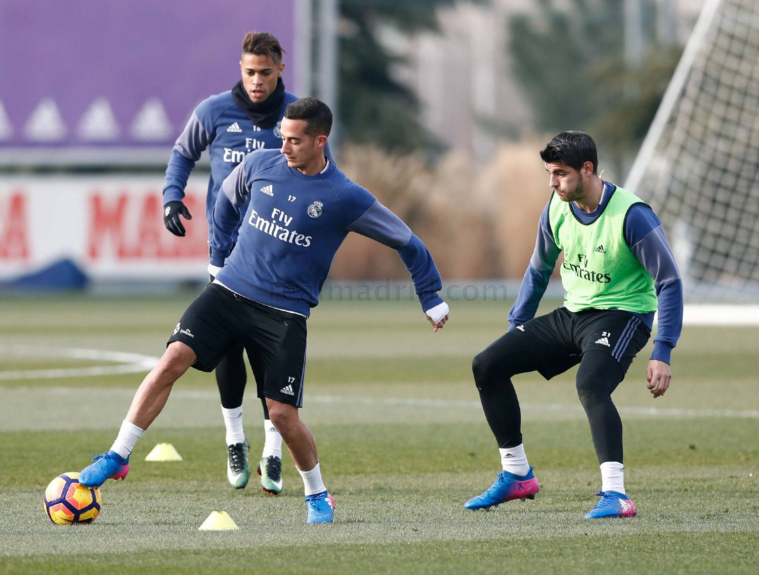 Real Madrid - Entrenamiento del Real Madrid - 26-01-2017