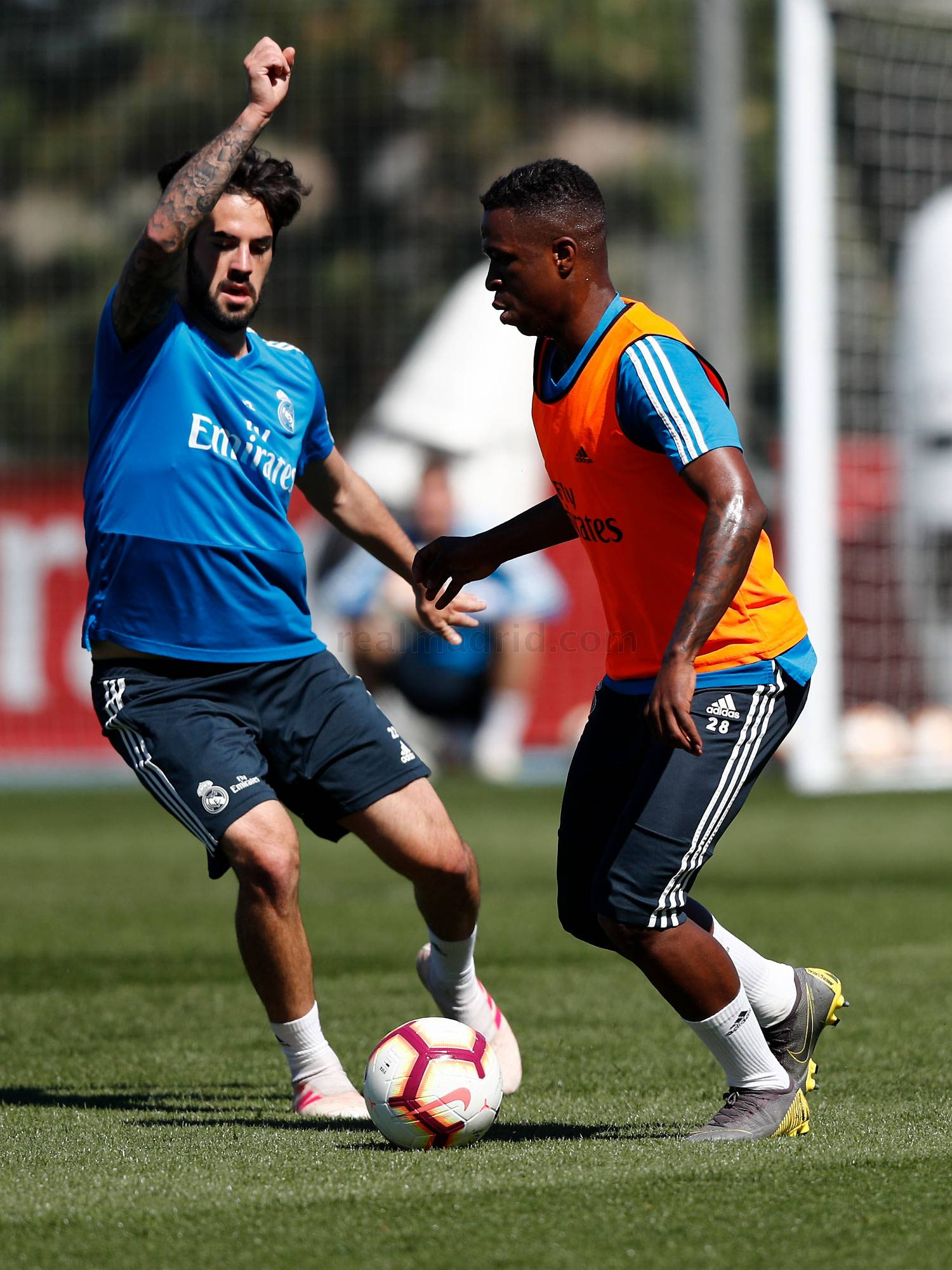 Real Madrid - Entrenamiento del Real Madrid - 27-04-2019
