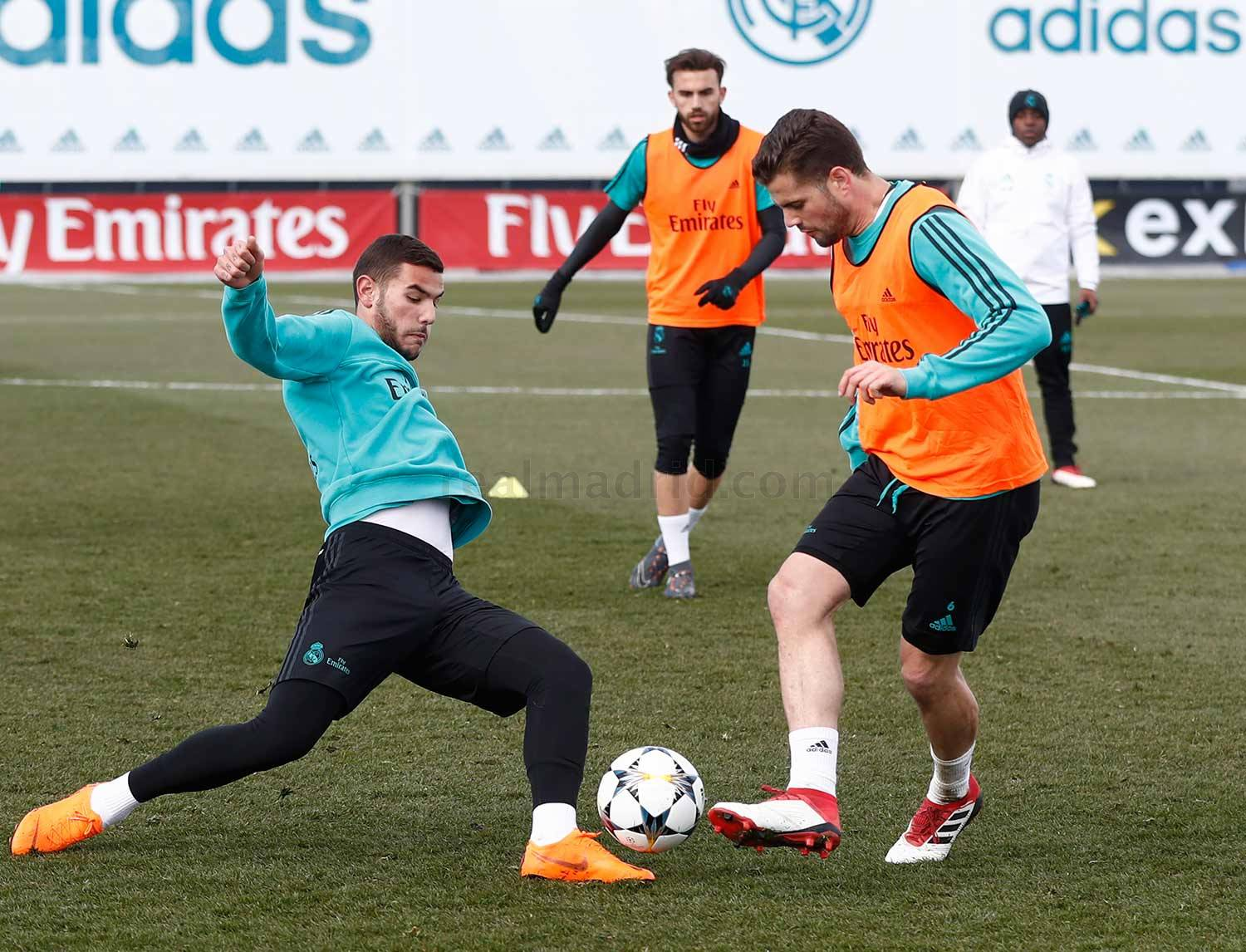 Real Madrid - Entrenamiento del Real Madrid - 11-02-2018