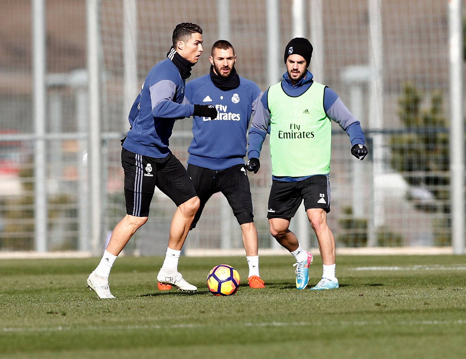 Real Madrid - Entrenamiento del Real Madrid - 28-01-2017