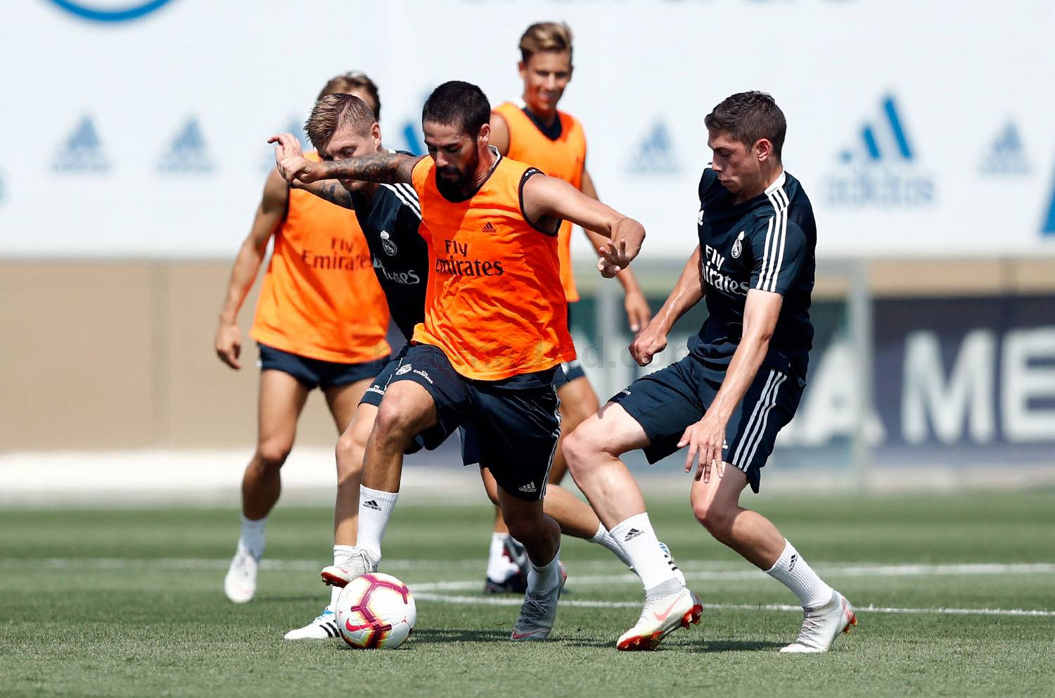 Real Madrid - Entrenamiento del Real Madrid - 23-08-2018