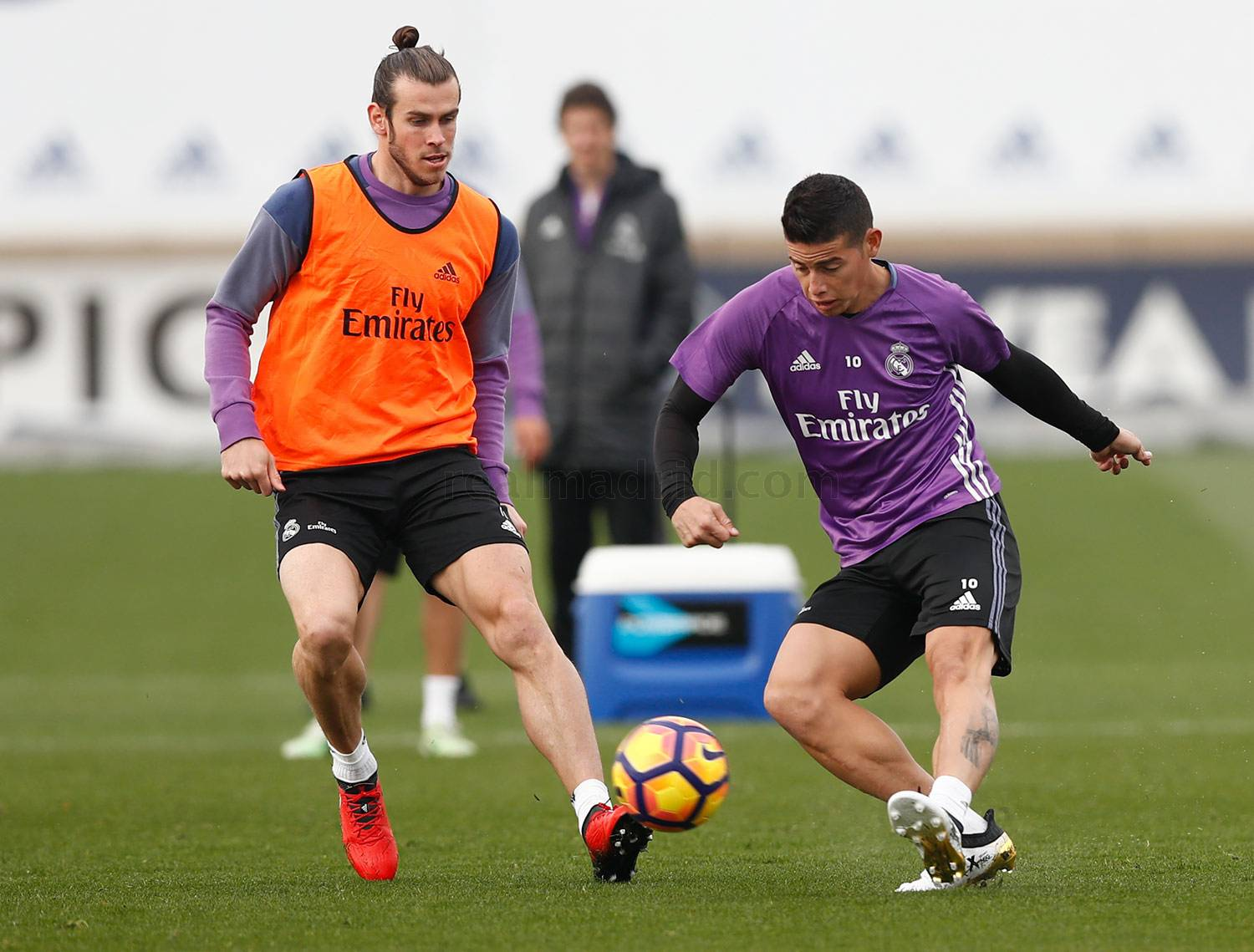 Real Madrid - Entrenamiento del Real Madrid - 18-11-2016