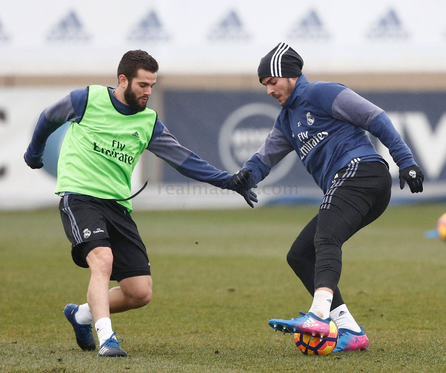 Real Madrid - Entrenamiento del Real Madrid - 02-02-2017