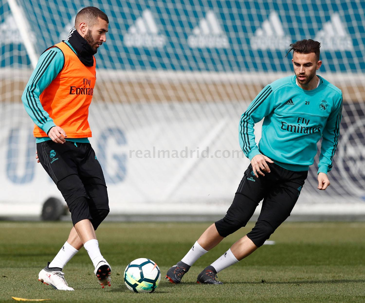 Real Madrid - Entrenamiento del Real Madrid - 19-02-2018