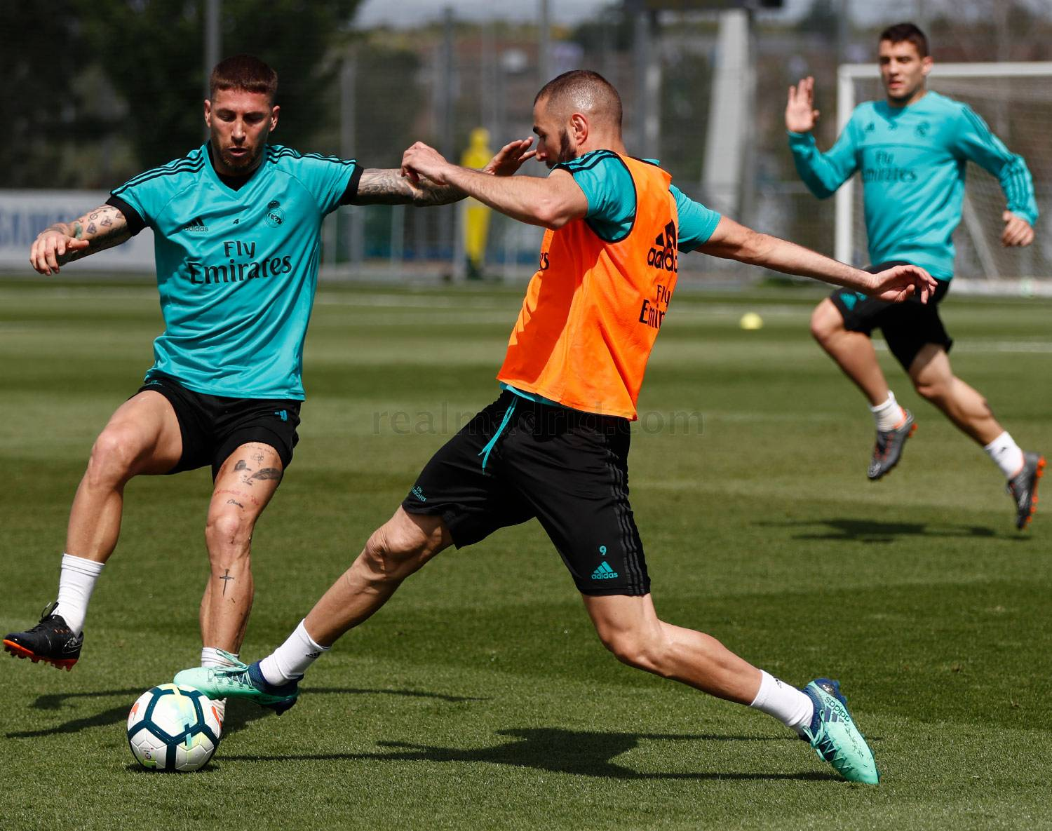 Real Madrid - Entrenamiento del Real Madrid - 27-04-2018