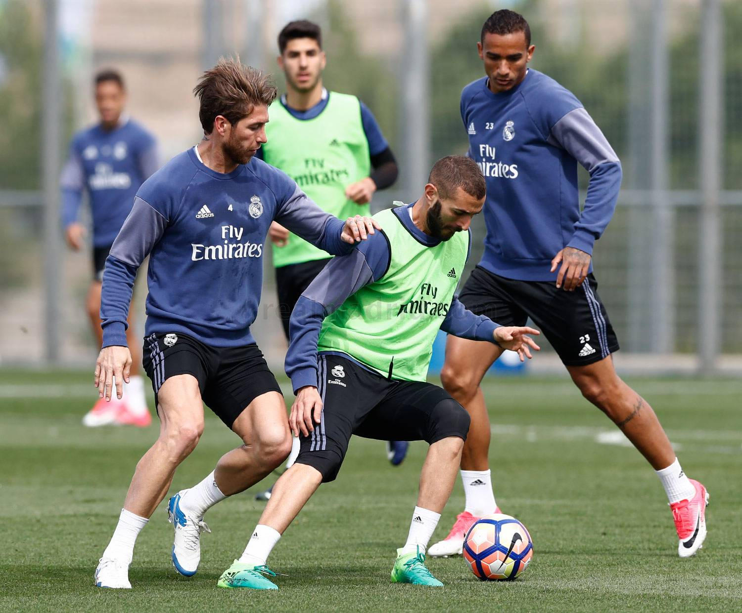 Real Madrid - Entrenamiento del Real Madrid - 05-05-2017