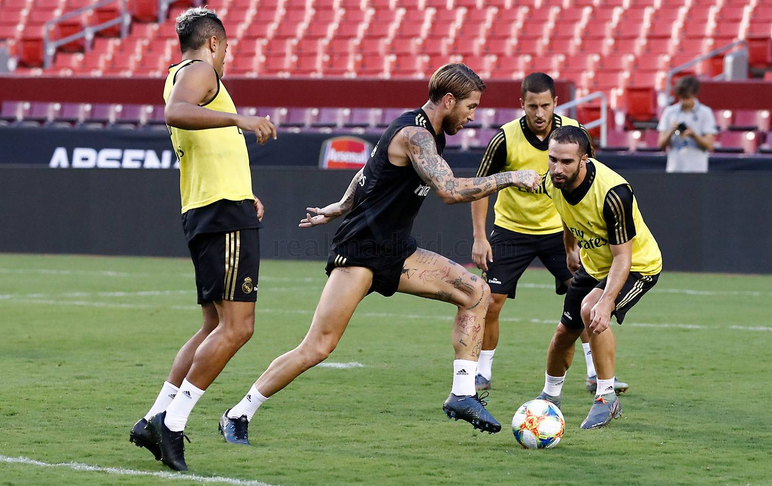 Real Madrid - Entrenamiento del Real Madrid en Landover - 22-07-2019