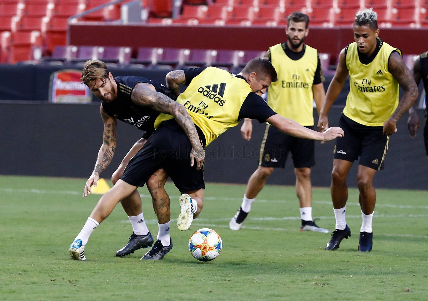 Real Madrid - Entrenamiento del Real Madrid en Washington - 22-07-2019