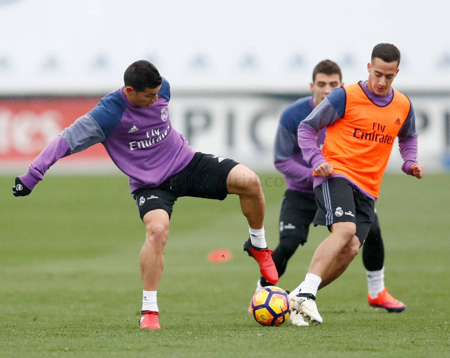 Real Madrid - Entrenamiento del Real Madrid - 25-11-2016
