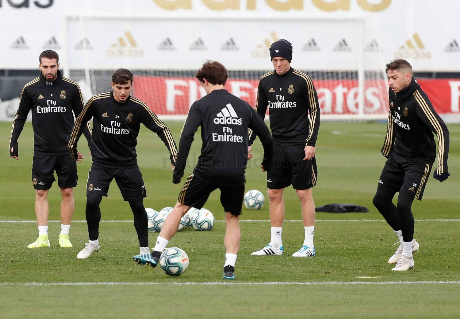 Real Madrid - Entrenamiento del Real Madrid  - 28-11-2019