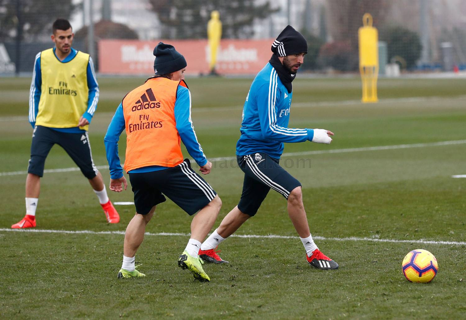 Real Madrid - Entrenamiento del Real Madrid - 17-01-2019