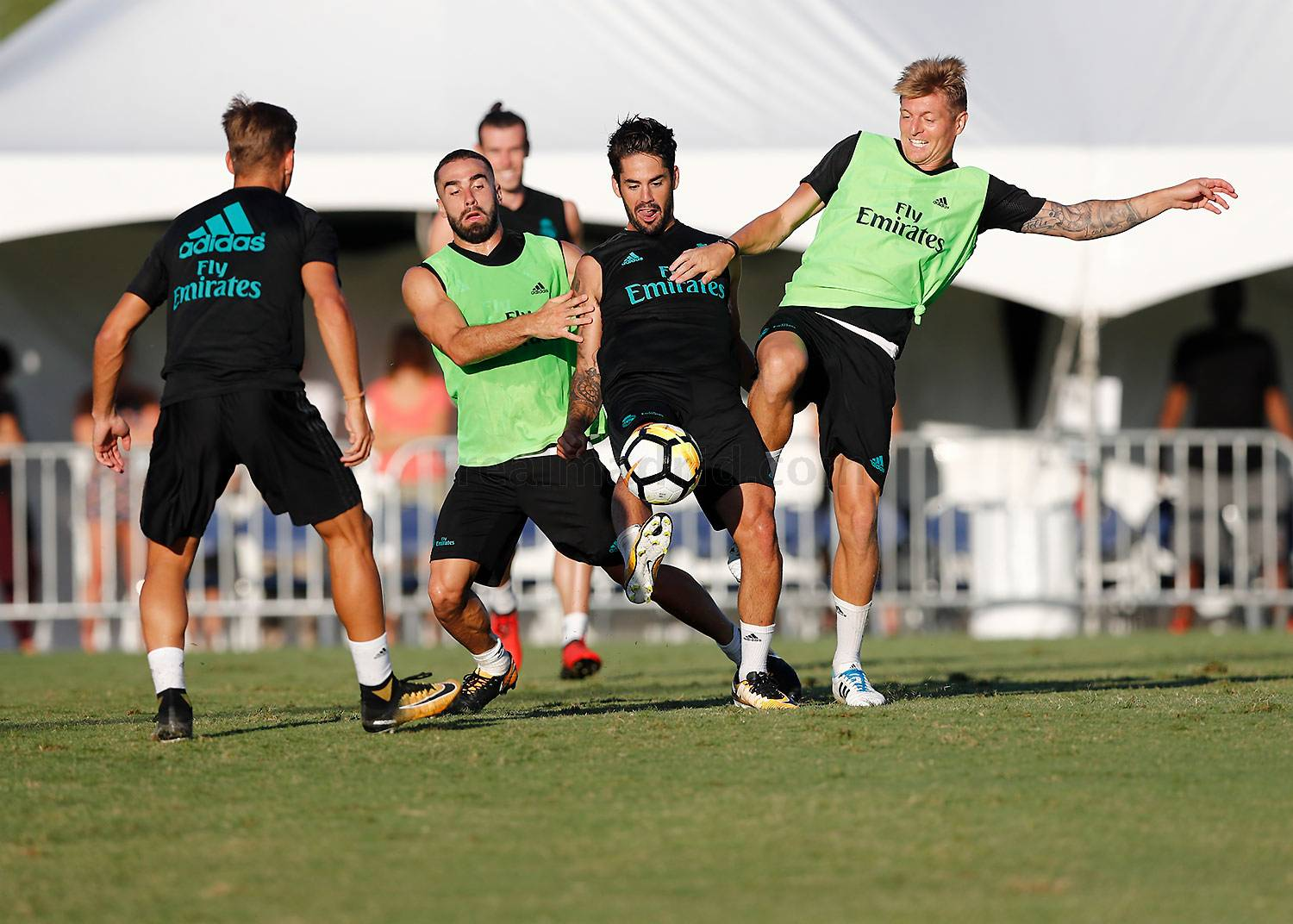 Real Madrid - Entrenamiento del Real Madrid en UCLA - 21-07-2017