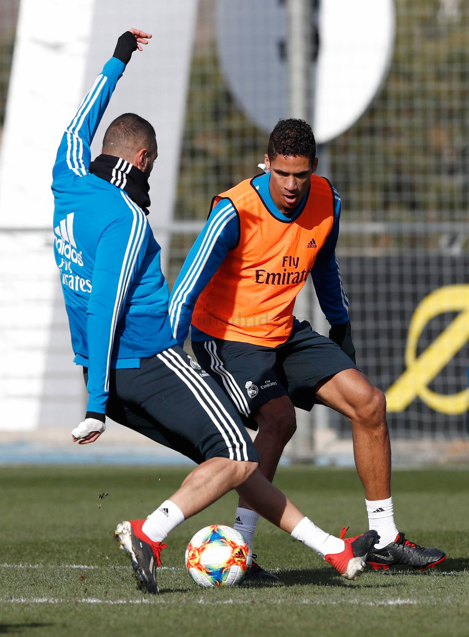 Real Madrid - Entrenamiento del Real Madrid - 23-01-2019