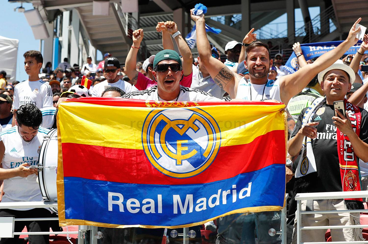 Real Madrid - Real Madrid - Manchester United - 23-07-2017
