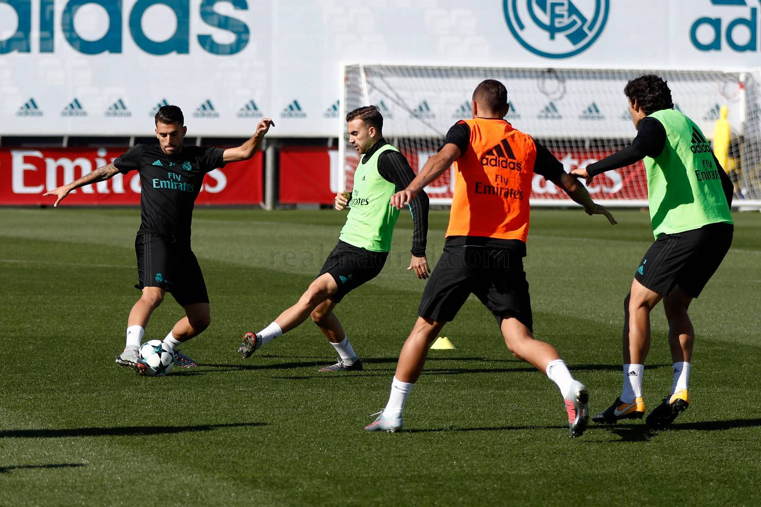 Real Madrid - Entrenamiento del Real Madrid - 30-10-2017